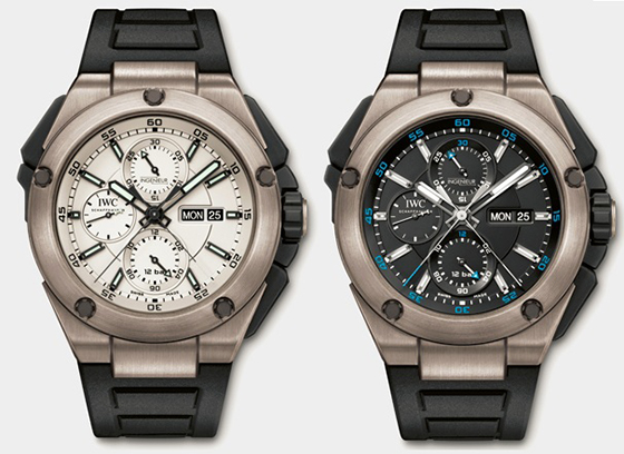 Swiss IWC Ingenieur Double Chronograph Replica