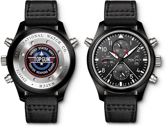 Swiss IWC Pilot Chronograph Top Gun Replica