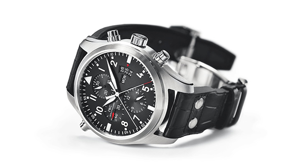 Swiss IWC Pilot Double Chronograph Replica