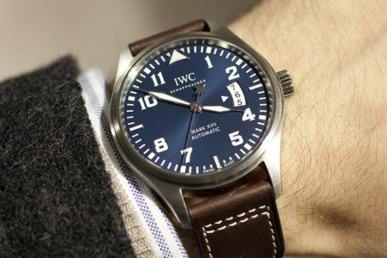 Swiss IWC Pilot Mark XVII Replica